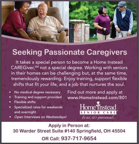 Home Instead is hiring Care Givers and Home Health Aides in Dayton and Springfield OH!   Part Time and Full Time, Flexible Shifts   NO medical Degree necessary for care givers  Click here for more info: https://www.employmentguide.com/company-profile/home-instead-springfield-82017 … or call 937-717-9654  #job #jobs #dayton #springfield