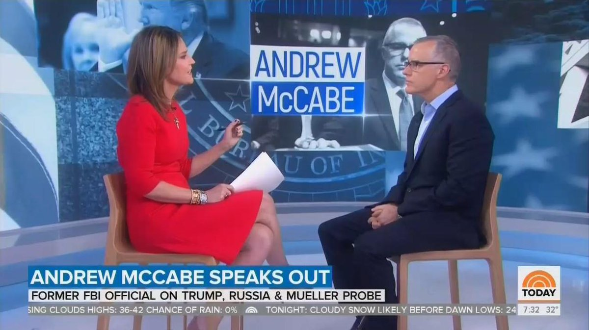 On NBC's @TODAYshow, Guthrie asks McCabe seven times if Trump is 'national security threat' https://t.co/NxOJLtjTP4