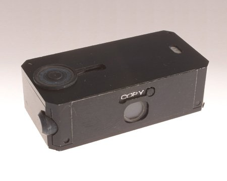 CIA #Museum Artifact of the Week: Subminiature 'Dual Use' Camera  This subminiature camera isn't much larger than its film cassette. It could be used to photograph both documents at close range & building sites at a distance.  https://t.co/nEPdLmwMKT   #HISTINT