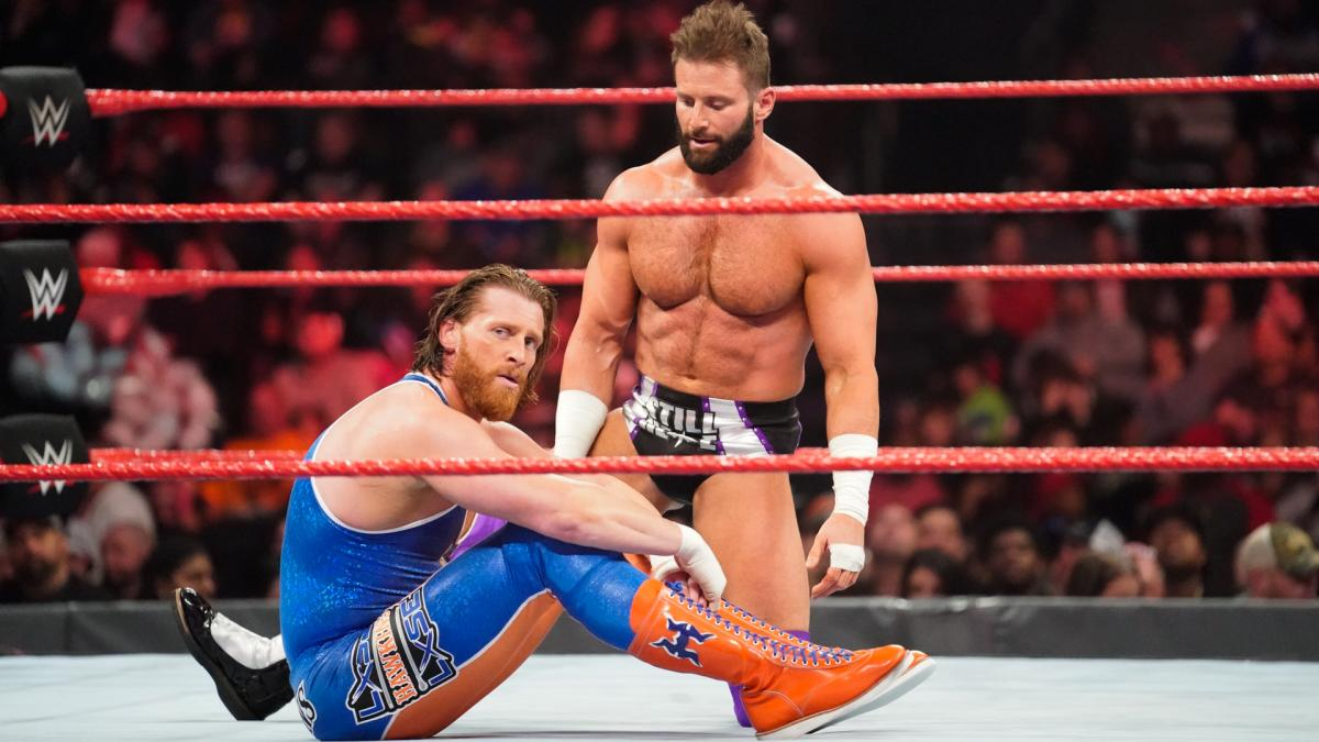 Will @TheCurtHawkins ever break his losing streak?  #RAW