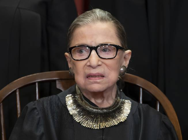 Ginsburg returns to Supreme Court bench in public session https://t.co/1R2U2Q2Pfw