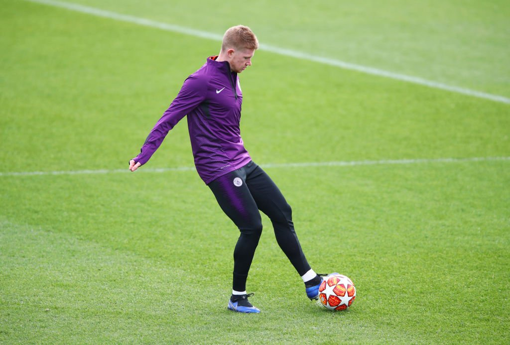 @DeBruyneKev KDB 💬 I've been fortunate in my career with injuries. I feel okay.   I feel better and better, and that I'm performing better than I was in the beginning with my injury, so I'm happy about that. https://t.co