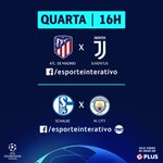 Image for the Tweet beginning: Se é Champions League que