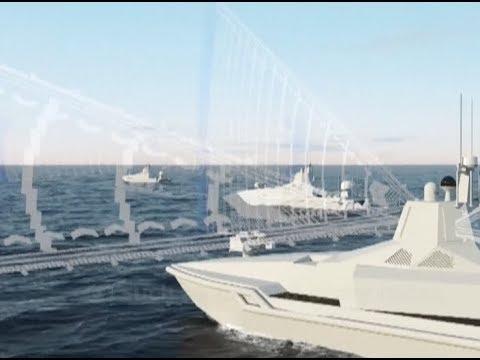 شركة بناء السفن (CSIC) الصينية تطلق نموذجاَ لسفن السطح غير المأهولة (USV). DzyR-hjXQAA_xv9