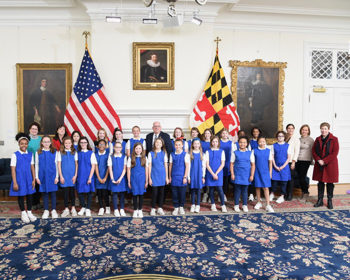Happy to meet students and faculty from Roland Park Country School today! cc: @RPCSTweets