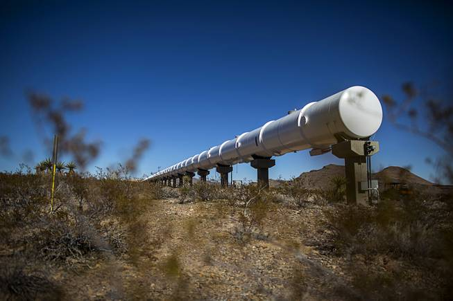 Hyperloop dreams take shape in Southern Nevada desert https://t.co/rtLf0r7Ita