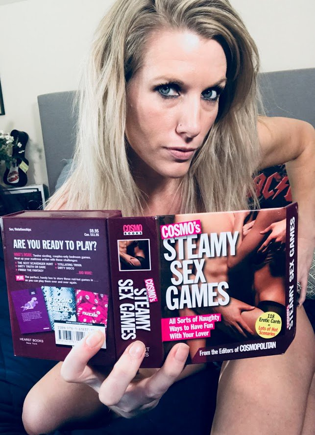 """New Arrival! Steamy Sex Games! A dozen """"win-win"""" games for lovers in one little box!  Grab yours today!  xoxo Nola https://kissygames.com/products/cosmos-steamy-sex-games…"""