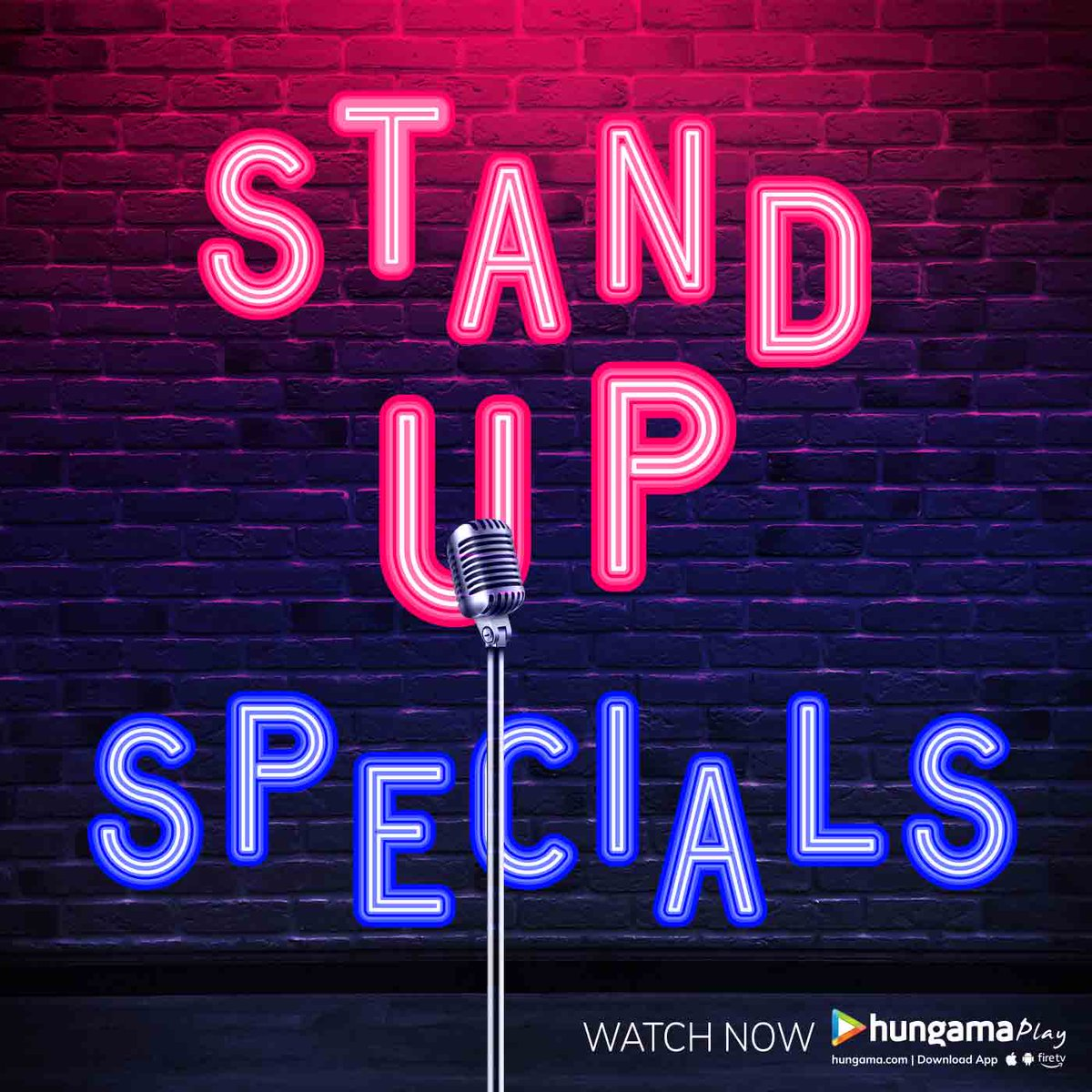 Laughter is the best medicine.  Watch these Stand Up Specials and ROFL #HungamaPlay   https://www.hungama.com/all/stand-up-comedy-21/5766/…