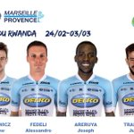 Image for the Tweet beginning: @Tour_du_Rwanda updates@TeamDelko_MP_ va aligner