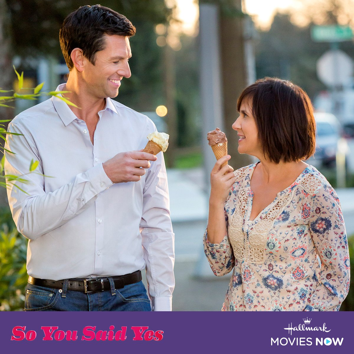 When the owner of a bridal shop (@Kellie_Martin) falls in love with the son of her chief competitor, she must fend off the woman's attempts to sabotage the relationship.  Watch #SoYouSaidYes and tell us what have been the biggest obstacles in your relationships.