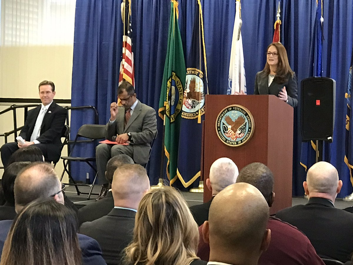 Principal Deputy Under Secretary for Benefits Margarita Devlin marks opening of VBA's SeaTac-based Decision Review Operations Center by discussing how Veterans will experience a more transparent claims decision-review process as part of implementation of Appeals Modernization Act