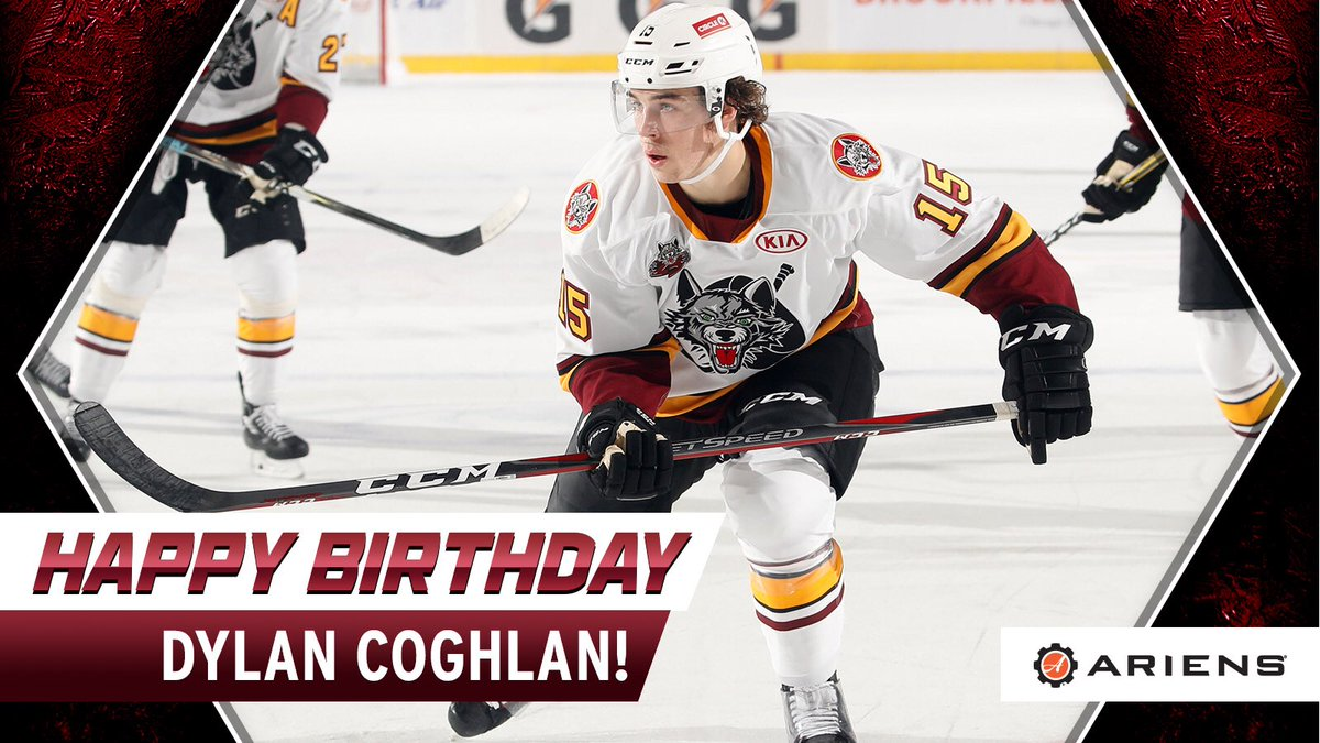 Happy Birthday to one of our favorite guys, @dylancoghlan15! 🎉 2️⃣1️⃣ #Wolves25