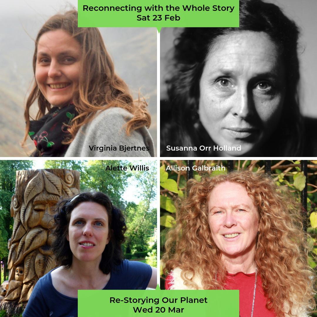 We also keep it #GreenArts for #WorldStorytellingDay too with an evening of stories, film & commentary re-uniting traditional stories & environmental action at with 'Re-Storying Our Planet' on Wed 20 Mar, 7pm (+ 'Mapping the Story' Workshop!) http://bit.ly/2Xc7e6P