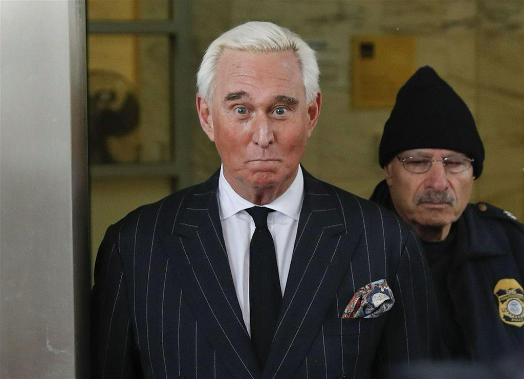 Roger Stone Is Sorry for Posting an 'Improper' Photo of a Federal Judge https://t.co/MNXQPbjvtC