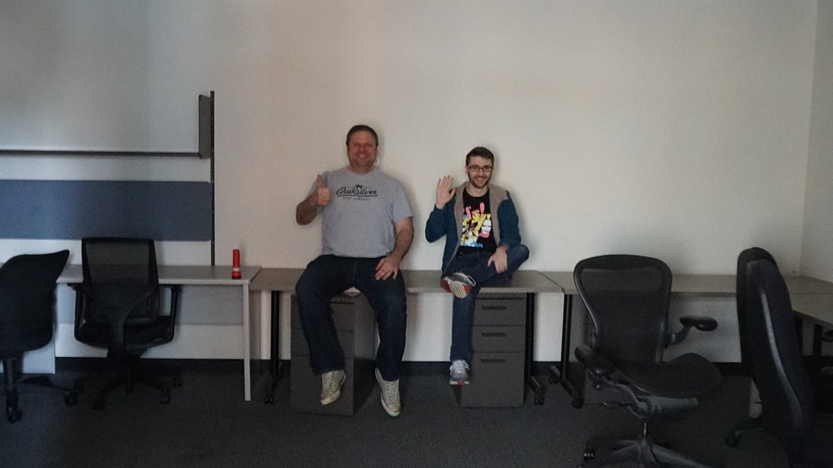 Volition On Twitter Jim Boone And Returning Video Editor Stream Czar Chipcheezum Hanging Out In Our New Streaming Space That We Re Starting To Build Out Volition Streams Starting Back Up Again Soon Https T Co Gwwakzfiet