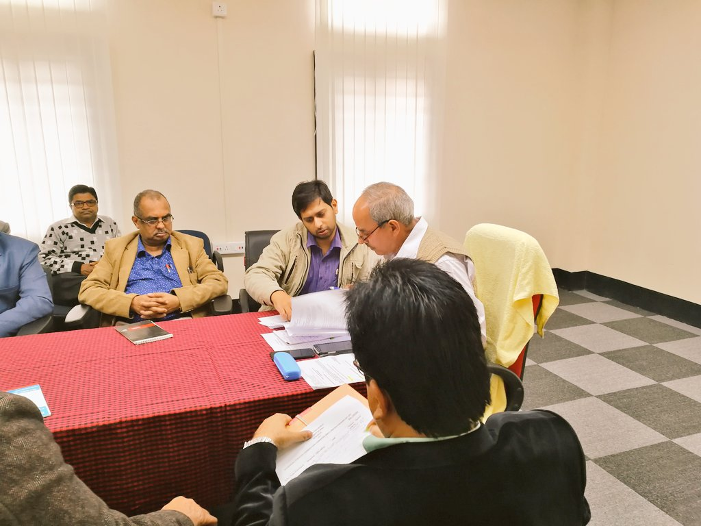 .@DGNorthEast chaired the Inter Media Publicity Coordination Committee meeting, Assam chapter at Soochna Bhawan, Guwahati.   @ROBGuwahati @PIBGuwahati @ddnews_guwahati @airnews_ghy @minmsme @prodefgau @MIB_India