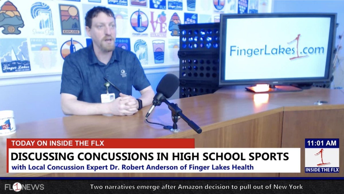 Discussing concussions and high school sports .::. Inside the FLX 2/21/19