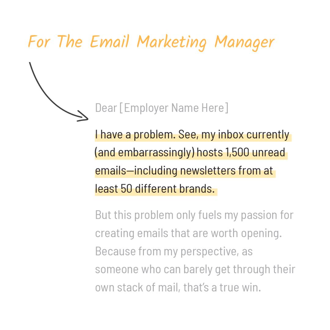 The Muse On Twitter Your Opening Line In Cover Letter Is
