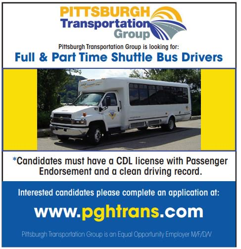 Hiring Full Time and Part Time Shuttle Bus Drivers in Pittsburgh PA!   Other positions available: Guest Service Rep, Shift Supervisor, Dispatcher, Bus Washer and more!  Click if you are interested to learn more: http://ow.ly/GBfg50lLn4M   #pittsburgh #job #jobs #hiring #joblisting