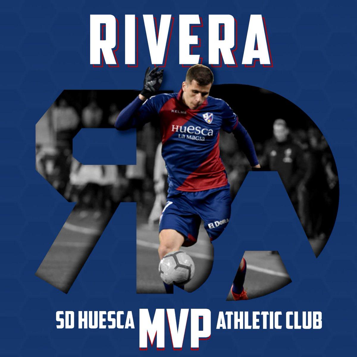 @c6rive es el MVP azulgrana del #HuescaAthletic 🔴🔵