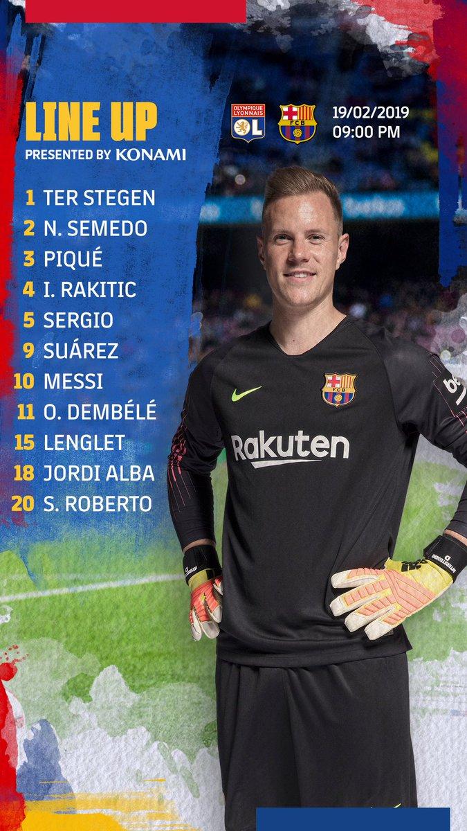 🔵🔴 Barça XI #OLBarça