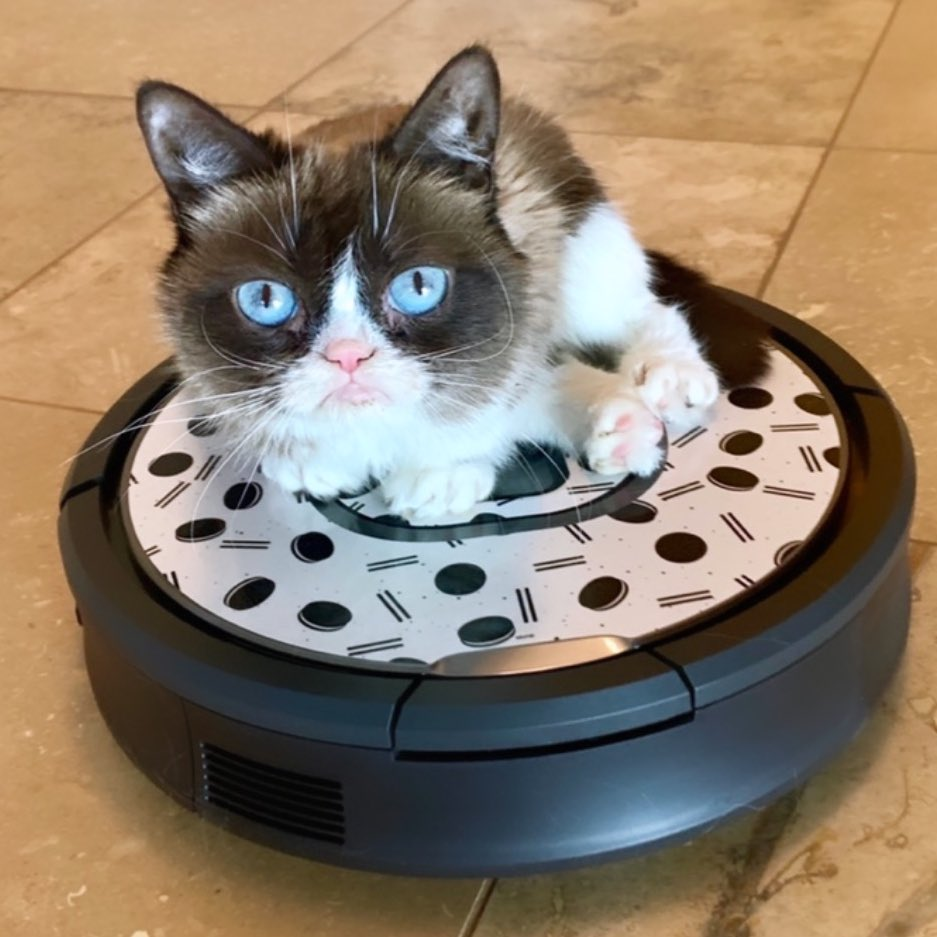 For a chance to win your very own  irobot Roomba with an  OREO Skinit  visit  http   bit.ly 2ARlPuX  sponsored  sweepstakes  thestufinsidepic. twitter.com  ... 9d0f2a1a1