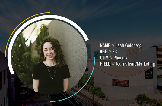 What does Leah love most about living in #GreaterPHX? How quickly the region is growing here as far as technology, culture and....read the rest in our #blog series: http://bit.ly/2RWmukx #TheConnectedPlace