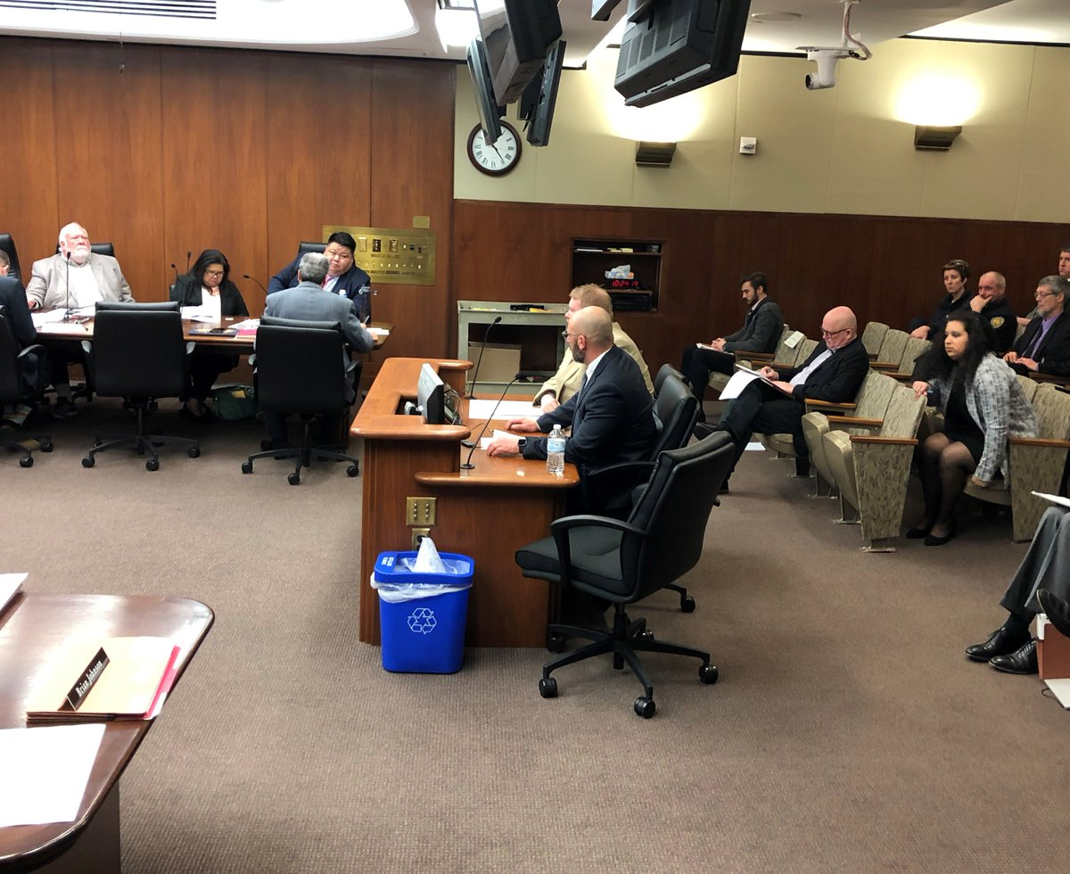 Today #Teamsters testified in committee in support of the Board of Public Defense budget request w/ @Brian_Aldes @IBT_320 @Teamstersjc32 #MNleg