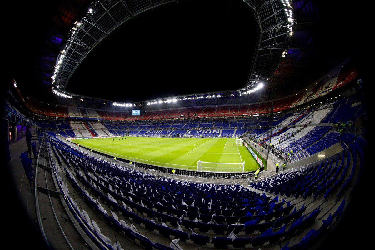 📍 OL Stadium #OLBarça