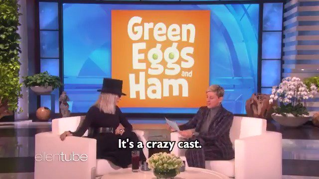 Do you like green eggs and ham? I made it a TV show, because I can. I made it with my friend Diane. @Diane_Keaton https://t.co/t8ZlNx2i8h