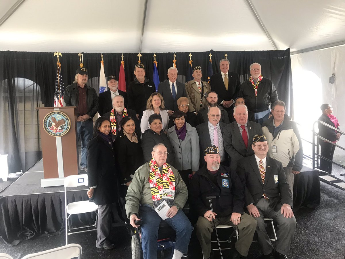 Pleased to attend today's groundbreaking ceremony at the New Outpatient Clinic at the Charlotte Hall Veterans Home. This facility is long overdue, and I look forward to the day when it can begin serving Southern Marylanders.  https://t.co/6Sg2HKKhMU
