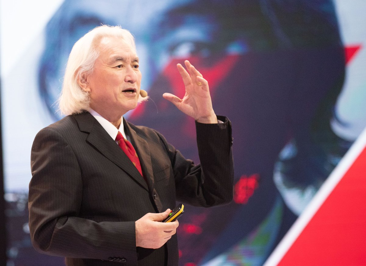 The greatest legacy of Copernicus is that he opened the Universe - @michiokaku in Toruń  #100x100