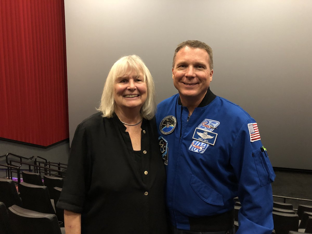 Rest in Peace Toni Myers.  You were a wonderful friend and mentor and you will be missed.  Helping you make @IMAX's A Beautiful Planet was the highlight of my career as an astronaut. Toni's legacy will live on forever.  #RIP