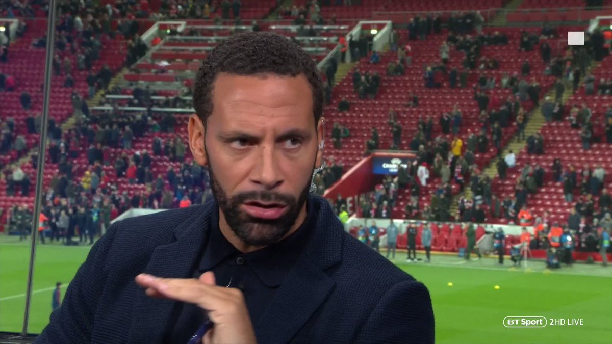 """If he comes out of this game without scoring a goal he'll be kicking doors off on in the changing room.""  @rioferdy5 predicts Robert Lewandowski will be licking his lips at the prospect of facing the makeshift pairing of Joël Matip and Fabinho 👀"