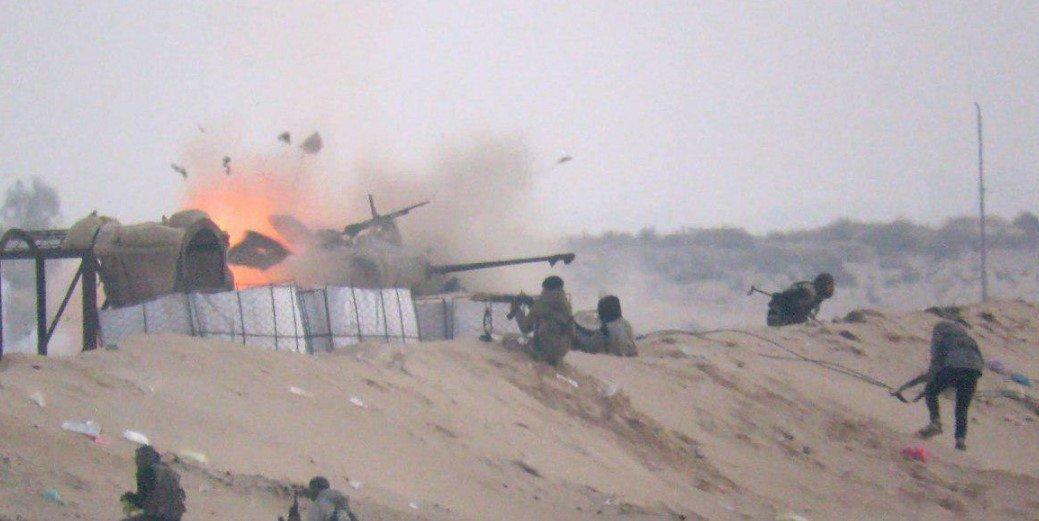 Нападение на блокпост под Аль-Аришем