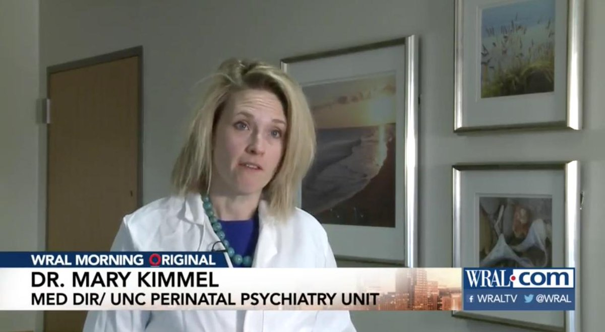 Postpartum psychosis is often considered a rare condition. But @UNC_SOM's Dr. Mary Kimmel believes it's under-diagnosed in new mothers. Discover how she's advocating a new approach to treating it through #UNC's perinatal psychiatry inpatient unit 👉🏾 https://t.co/WLs3gBfD3R …