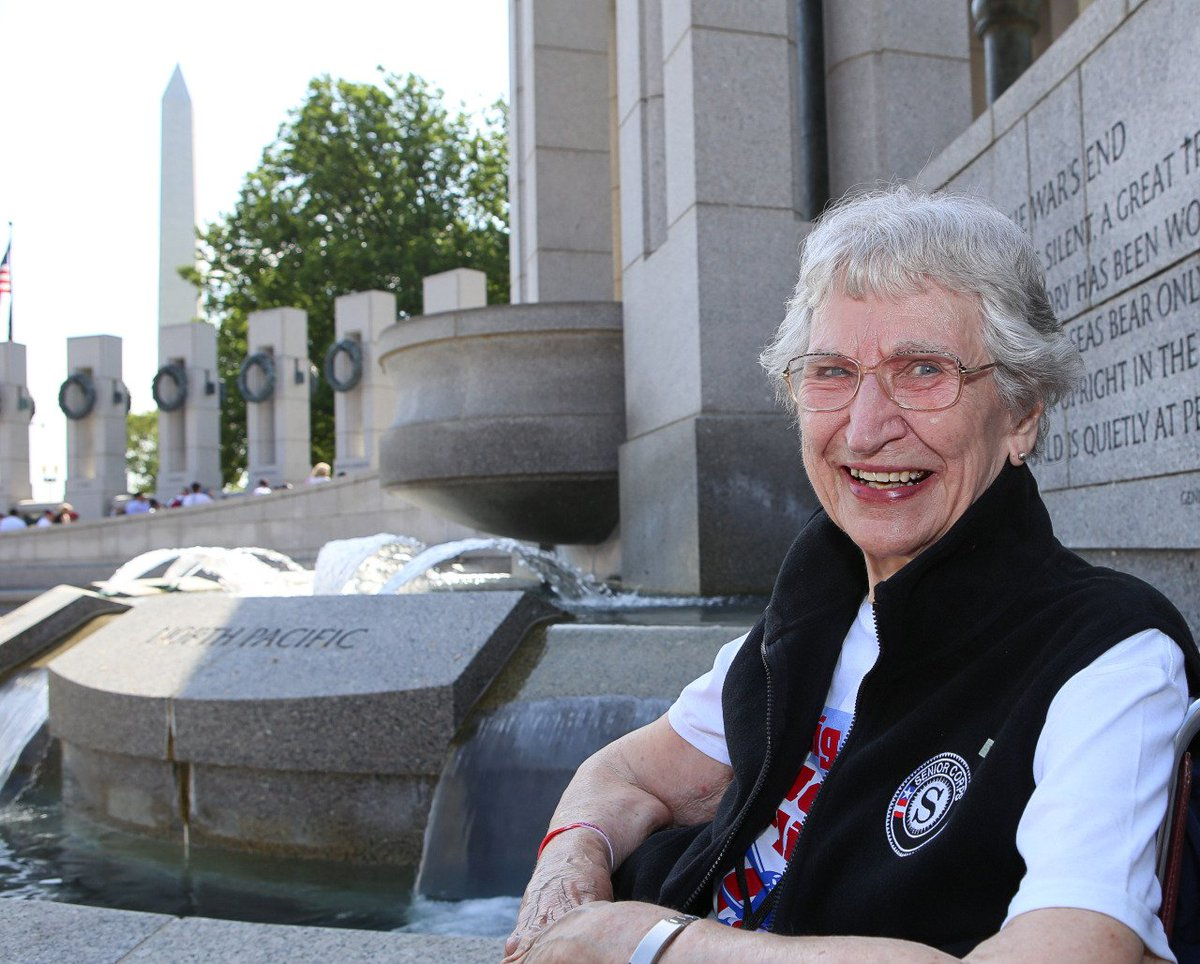 Happy #VetGirlsROCKDay! So many of our nation's women veterans continue serving after the military, through @AmeriCorps and @SeniorCorps programs nationwide. Kudos to them! Here's a throwback blog post about WWII veteran and RSVP volunteer Sarah Styger. http://bit.ly/2V81skH