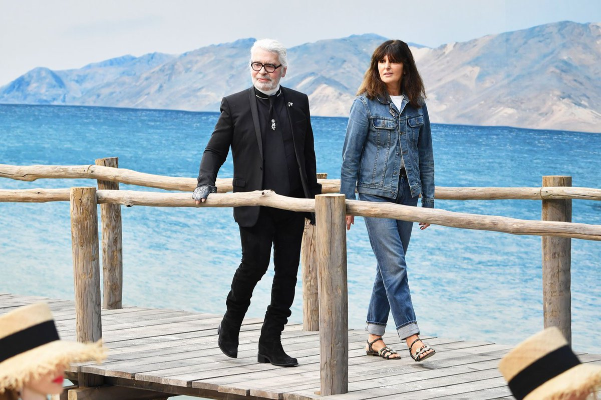 Virginie Viard will succeed Karl Lagerfeld at Chanel: https://t.co/urgr0NGfbF
