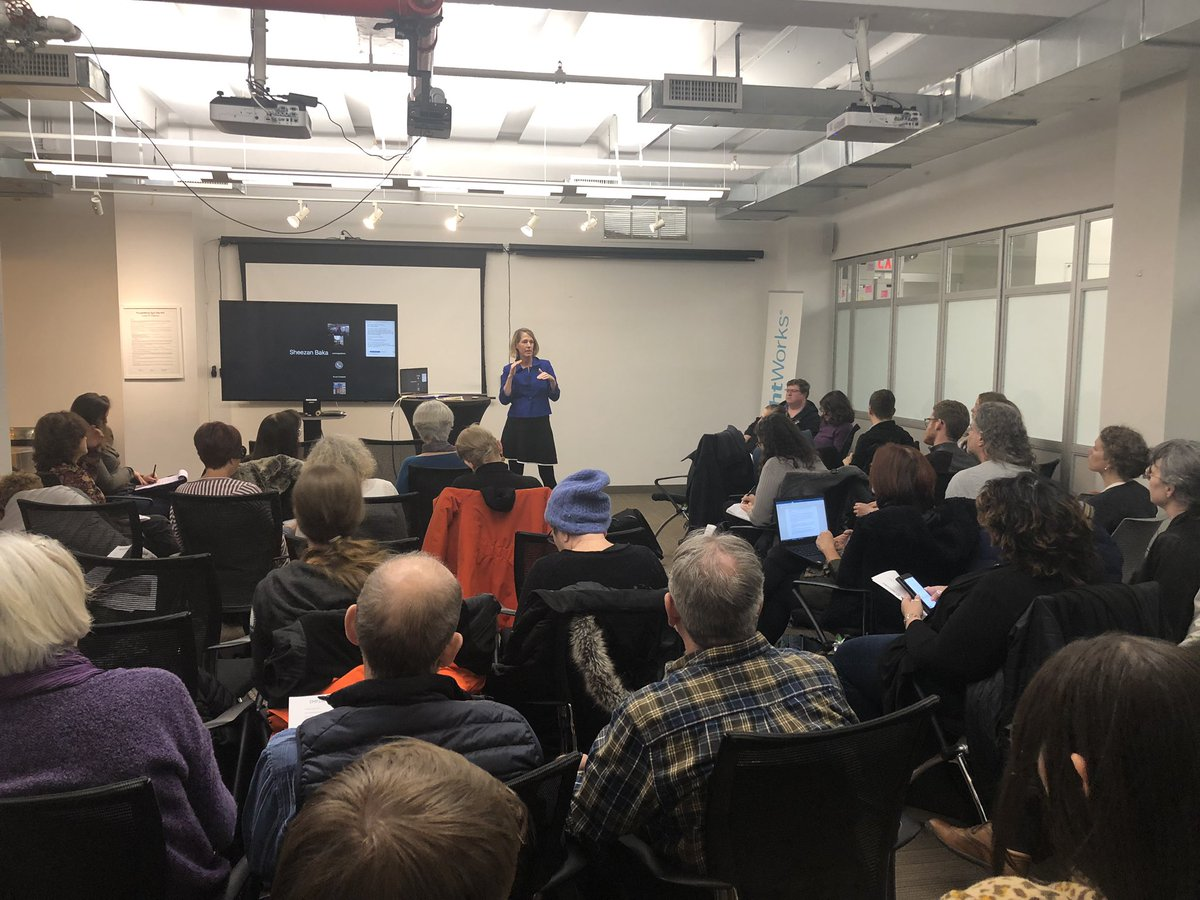 Packed house at the @makeNYTrueBlue meeting ramping up our fight to get money out of politics! Special guest @ZephyrTeachout strategizing on how we make public financing a reality in NY this year! #FairElections<br>http://pic.twitter.com/UYySfWxhxk