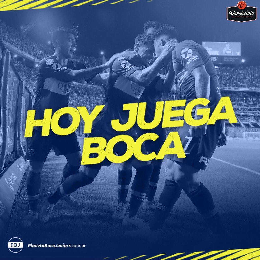 ¡HOY JUEGA #BOCA!