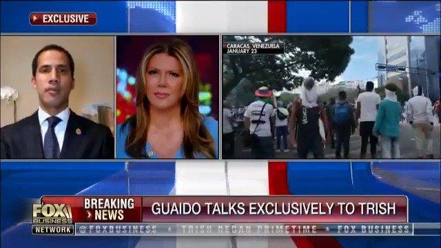 """Image for the Tweet beginning: .@jguaido: """"@realDonaldTrump's help has been"""