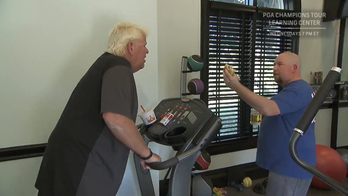 John Daly fires shot across Vijay's bow with his own grueling workout video