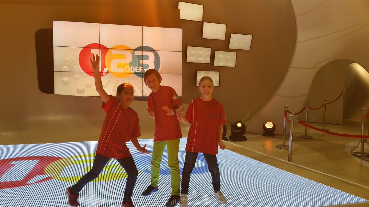 "test Twitter Media - Leo, Alisha and Clara-Caterina from 4th class have started their mid-term break with a very exciting experience - they travelled to Munich to take part in the famous German children's tv quiz show ""1, 2 oder 3""! @ZDF https://t.co/Llu4v0PJfL"