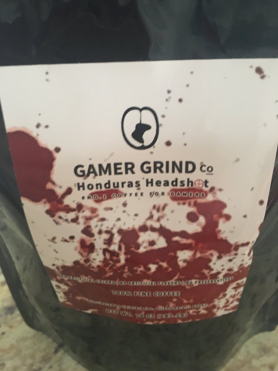 Time to drink coffee and get on this gamer grind @GamerGrindCo #OnThatGrind
