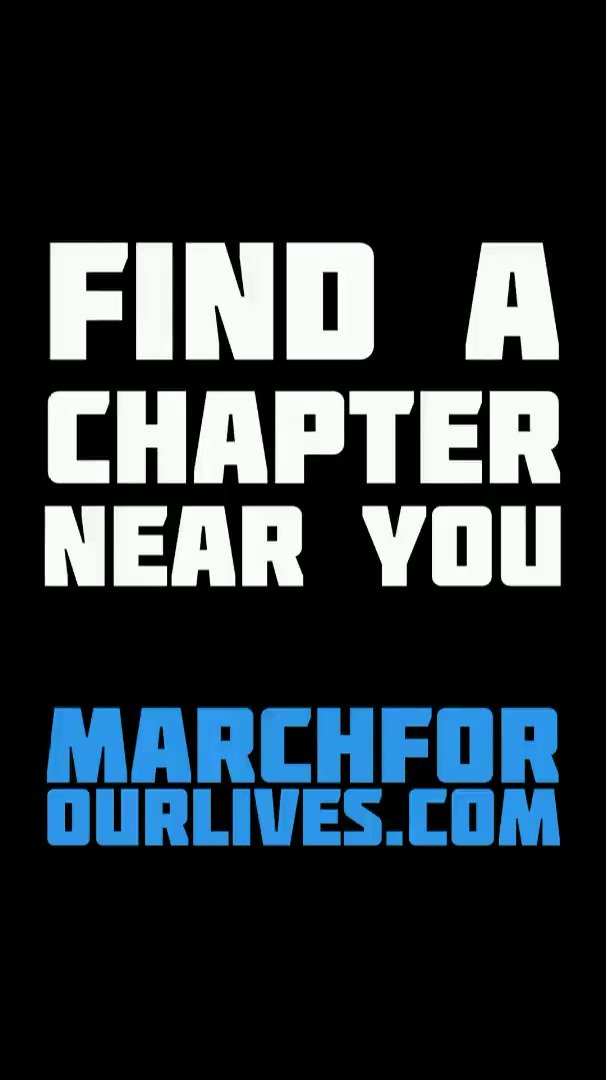 A year ago, we announced the March For Our Lives. Since then, MFOL has grown from a few teenagers in Florida to hundreds of chapters across the country. Want to be a changemaker? Join or start a chapter in your area at http://marchforourlives.com