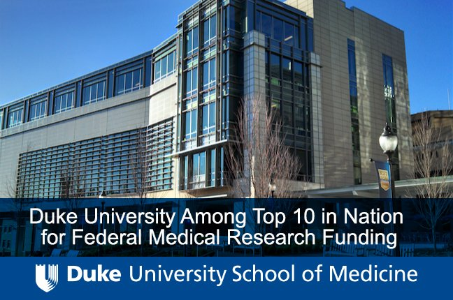 Duke Medical School on Twitter: