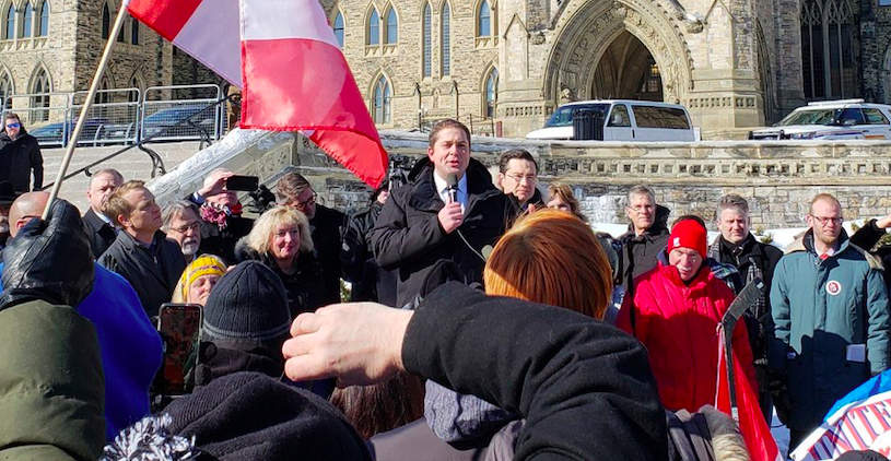 The convergence of Canada's mainstream right and far right is occurring right on schedule.