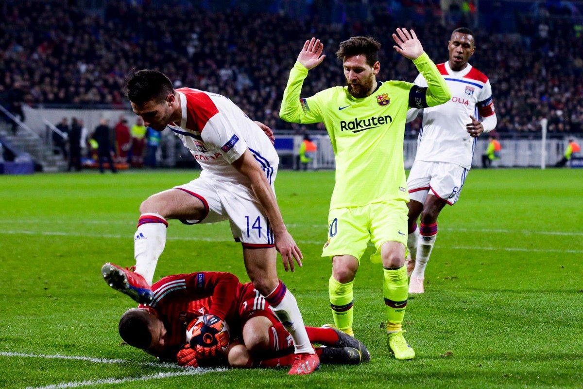 ЛЧ. Лион - Барселона 0:0. Гробовщики, или Искусство не забивать - изображение 1