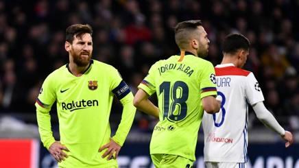 #ChampionsLeague, #Barcellona a secco a #Lione: si decide tutto al Camp Nou https://t.co/FjBgXkImaO #ucl