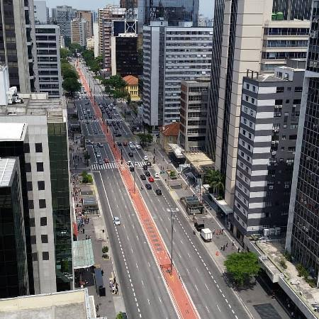 "Non a Twitteren: ""To olhando aqui avenida paulista sem ninguém ..."